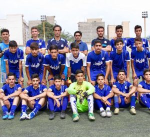 Navid faridi Coach of EsteghlalF.C U15نويد فريدى