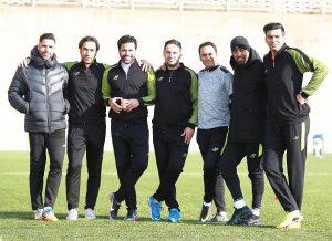 Amir hossein Sadeghi, Navid Faridi ,Alireza Nikbakht vahedi,Meysam Maniei, Arash Borhani, Siyavash Akbarpour,Alireza Abasfard