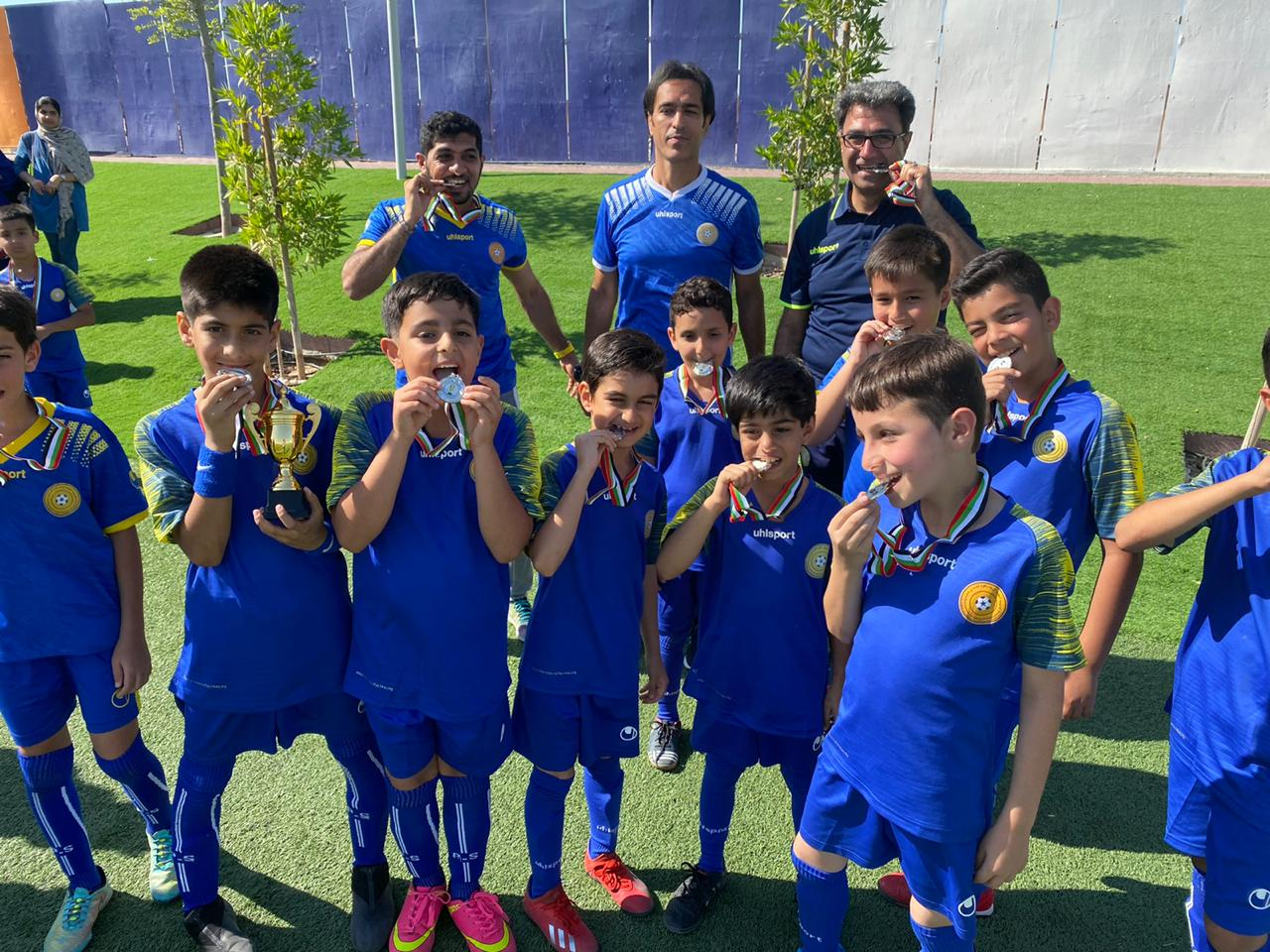 Al najma Al zarqaa F.C Academy UAE , U'10